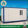 Durável moderna casa container, portable recipiente de habitação, container escritório