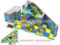 cubierta suave de juegos para niños, equipo de juegos para niños , campo de juego interno