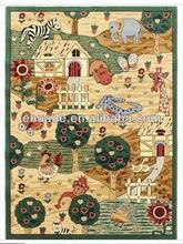 children room blanket,cartoon rugs ,modern patterns PP mat / rugs