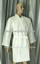 Short sleeve disposable kimono for beauty salon/Disposable non-woven kimono/japanese non-woven kimono