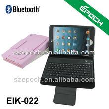 Wireless Bluetooth Keyboard for iPad mini Keyboard PU Leather Cover Case Stand for Apple ipad Mini