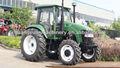 Prezzo migliore 100hp trattore con cabina/condizionatore/caricatore frontale 100hp trattore agricolo