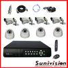 H.264 8 Channel DVR Kit cctv security camera system