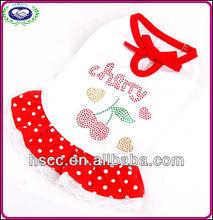 China Wholesale Hot Selling Cute Strawberry Dog Dress