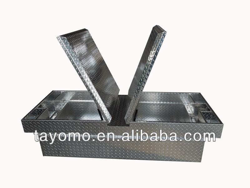 Gull Wing Aluminum Tool Box / Crossover Aluminum Tool Box