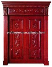 Composite wooden church door