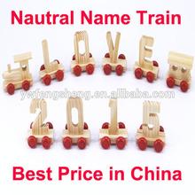 2014 Top wooden alphabet train