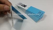 high quality customized brand name hang tags card