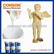 low cost figure moulding liquid rtv silicone rubber for statue moulding