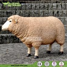 Life Size Simulation Animal Animatronic Sheep