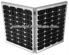 180w mono folding/portable solar panel with high quality