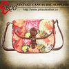 2013 latest Floral Oilcloth Canvas Messenger Bag Shoulder Bag