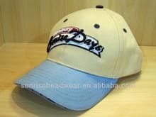 custom 100% cotton golf caps hats