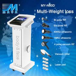 guangzhou /factory /MY-N80D 7IN1/lipo cavitation equipment/ RF Vacuum Cavitation Slimming equipment(CE)