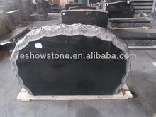 Shanxi black granite cheap headstone