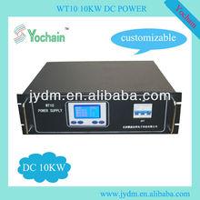 DC sputtering power 10kw 12A