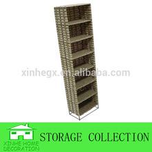 7 layers seagrass handwoven decorative cd storage