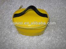 2013 yellow brand name designer cosmetic bag wholesale