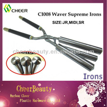 iron hair CI008/hair curling machine/stove heated thermal curling iron
