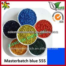 Additives for plastics---Blue E555