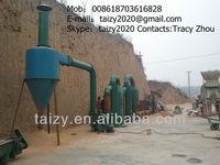 wood waste sawdust drier machine