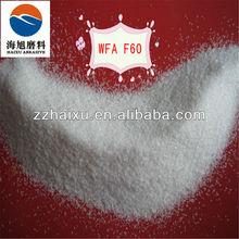 F60 White Alumina oxide abrasive plastic media
