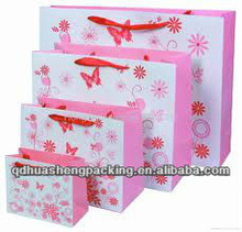 Fashion charming new style with all size gift paper packing bags