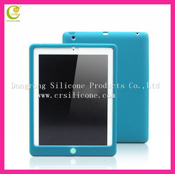 Factory hot selling different cartoon shape silicone soft shockproof case for ipad mini