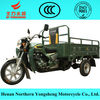 YongSheng cargo three wheel motorcycle made in china