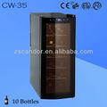 Refroidisseur de vin thermoélectrique cw-35 12 bouteilles