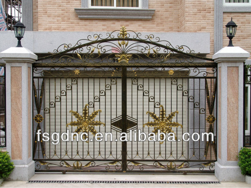 simple gate design for house images