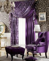 213 hotsale fashion design promotional curtain design