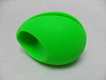 2012 Hot sale Mini egg shape silicone Speakers for iPhone4/5,Egg shape mini audion silicone speaker for iphone4