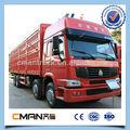 Chine bon camion lourd howo 8*4 commerçant.