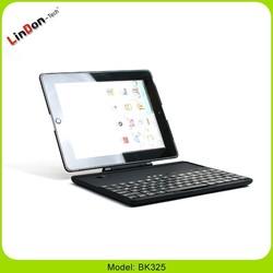 Hot 3 in 1 rotate separable wireless bluetooth keyboard case for ipad 2 3 4, 2013 best multimedia keyboard