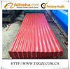 Color steel roofing/corrugated steel roofing sheet/brick red steel roofing sheets