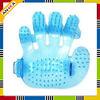 Bath Massage Pet Bath Plastic Glove Brush Pet Grooming Glove Brush