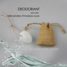 Egg sack rope crystal smart deodorant