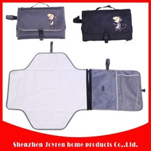 Foldable baby changing pad