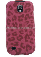 Fashion Cover Case for samsung s4 leopard leather case