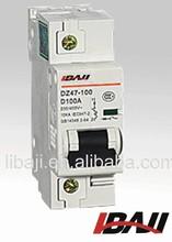 miniature circuit breaker DZ47-100 1P C45