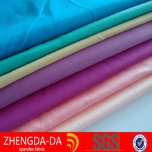 lycra shiny nylon spandex fabric for underwear , sportswear
