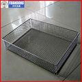De aceroinoxidable de malla de alambre cesta( precio de fábrica)
