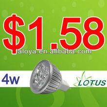 High quality osram cob led mr16 4w spotlight factory sale