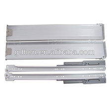 86mm Soft closing metal drawer slide with bumper