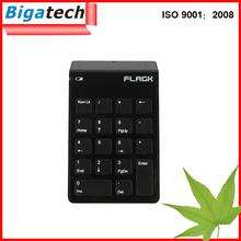Latest 2.4G Mini Wireless Computer Numeric Slim Keyboard