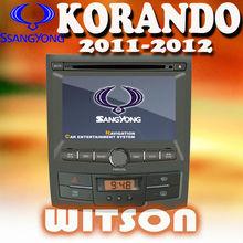 De WITSON 3 g internt SSANGYONG nueva KORANDO con la Radio RDS función