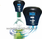 Promotional modern design Plastic battery operated vacuum pump wine stopper