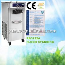 2+1 flavors ice cream making machine/with CE/ice cream blending machine