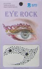 stars sexy beauty party make up eye tattoo sticker